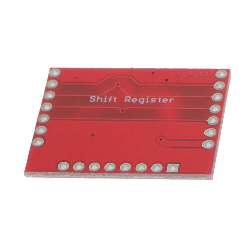 74HC595 Shift Register Modulplatine 10er Pack