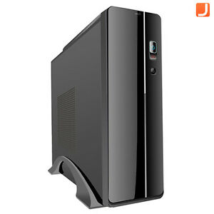 Mini-ITX-HTPC-Case-300W-PSU-Card-Reader-Micro-ATX-Desktop-PC-Media-Centre-S003B