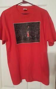 450720bb077 Michael Jordan NBA Finals Game 6 winning shot shirt Air Jordan