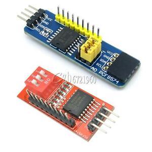 PCF8574 PCF8574T I2C 8 Bit IO GPIO expander module for Arduino &...