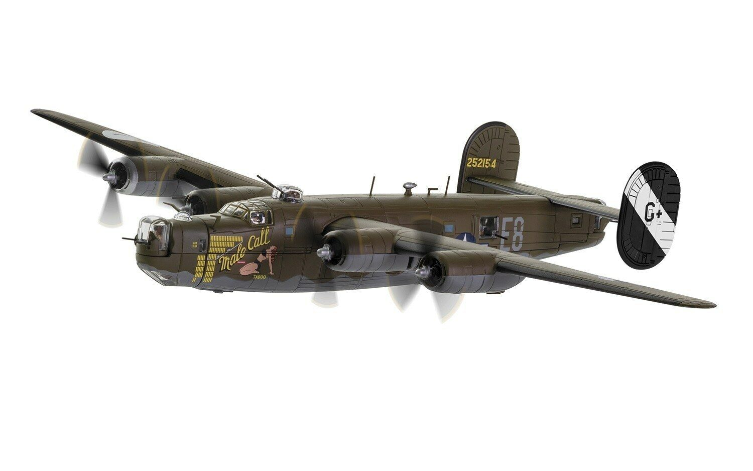 CORGI B-24H LIBERATOR 'MALE CALL' 453rd BG, US EIGHTH AIR FORCE, 1944 AA34018