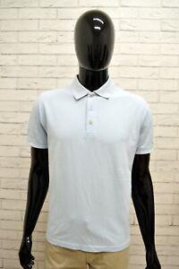 Polo-Uomo-GATTINONI-Taglia-Size-M-Manica-Corta-Maglia-Shirt-Man-Cotone-Slim-Blu