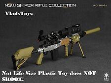 Easy & Simple 1/6  NSW sniper rifle Mk14Mod1 aluminum  06010 E *Not Life Size*