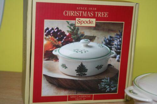 Micro-ondes Bol Mini-Casserole M Couvercle Spode Christmas Tree