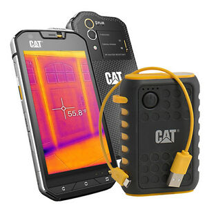 caterpillar 32gb cat s60 waterproof unlocked smartphone power bank bundle ebay. Black Bedroom Furniture Sets. Home Design Ideas