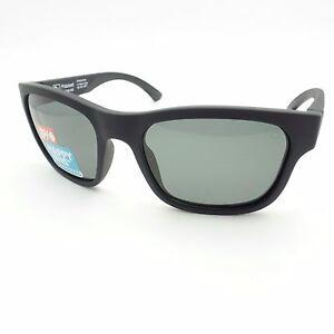 b82467f3a23d Spy Optics Hunt Matte Black Happy Gray Green Polarized New ...
