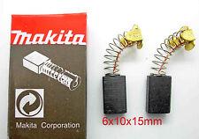 Carbon Brushes Makita 6X10X15 HK1800 HK1810 HM0810B HM0810T HR1800 HR1820   M4
