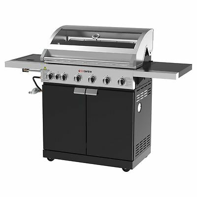 NEW Red Centre Bayview 6 Burner Hooded BBQ - BB12869A