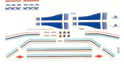 Fred Cady 229 82 Z28 Indianapolis 500 Pace Car decal