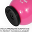 thumbnail 3 - Yes4All Vinyl Coated Kettlebells With Protective Rubber Base – Weight Available: