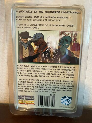 Silver Gulch 1883 Expansion Sentinels of the Multiverse Card Game