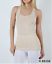 New Zenana Outfitters M  Stretch Cotton Jersey Racer Back Tank Top Heth Beige