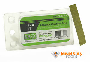 "1/"" long 5,000 Grex 23 Gauge Stainless Steel Headless Micro Pins P6//25-ST"