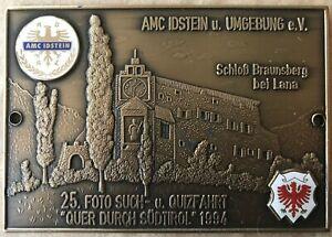 Badge-Automobile-German-Rally-65-1994-AMC-Idstein-UMEGbung-Club-QizFahrt-A