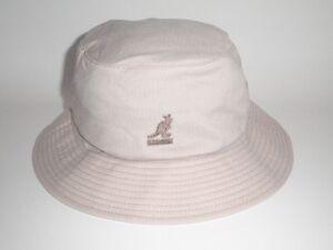 371322b64a9 NEW Kangol WYNN BUCKET Hat Beige S M ( 40) Cap Flexfit Golf Fish ...