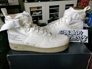 f842a5feb8 Nike SF AF1 Special Field Air Force 1 Mid Ivory Neutral Olive Cargo ...