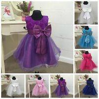 Flowergirl Dress Princess Christening Party Wedding Bridesmaid Girls Kids Maisy
