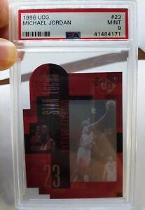 1996-97 Upper Deck UD3 Michael Jordan #23, Acetate Die Cut, Tough Grade !, PSA 9