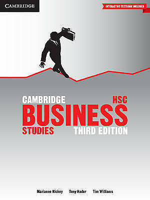 1 of 1 - Cambridge HSC Business Studies, 3rd Edition + CambridgeGo -Marianne Hickey et al