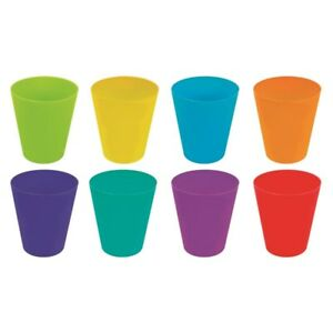 398126c432d Image is loading Plastic-Drinking-Cups-Mugs-Tumblers-Children-Kids-Party-