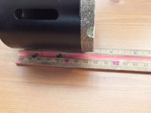 """3/"""" 3 Inch Diamond Core Drill Diameter 4 Inch 4/"""" Long"""