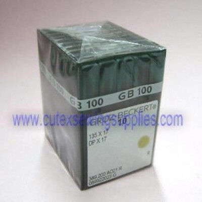 100 Groz-Beckert 135X17 DPX17 SY3355 Industrial Walking Foot Machine Needles