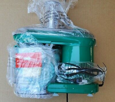 Model K45560-039-000 BLUE. COOK/'S ESSENTIALS ELECTRIC MANDOLINE W// 7 BLADES
