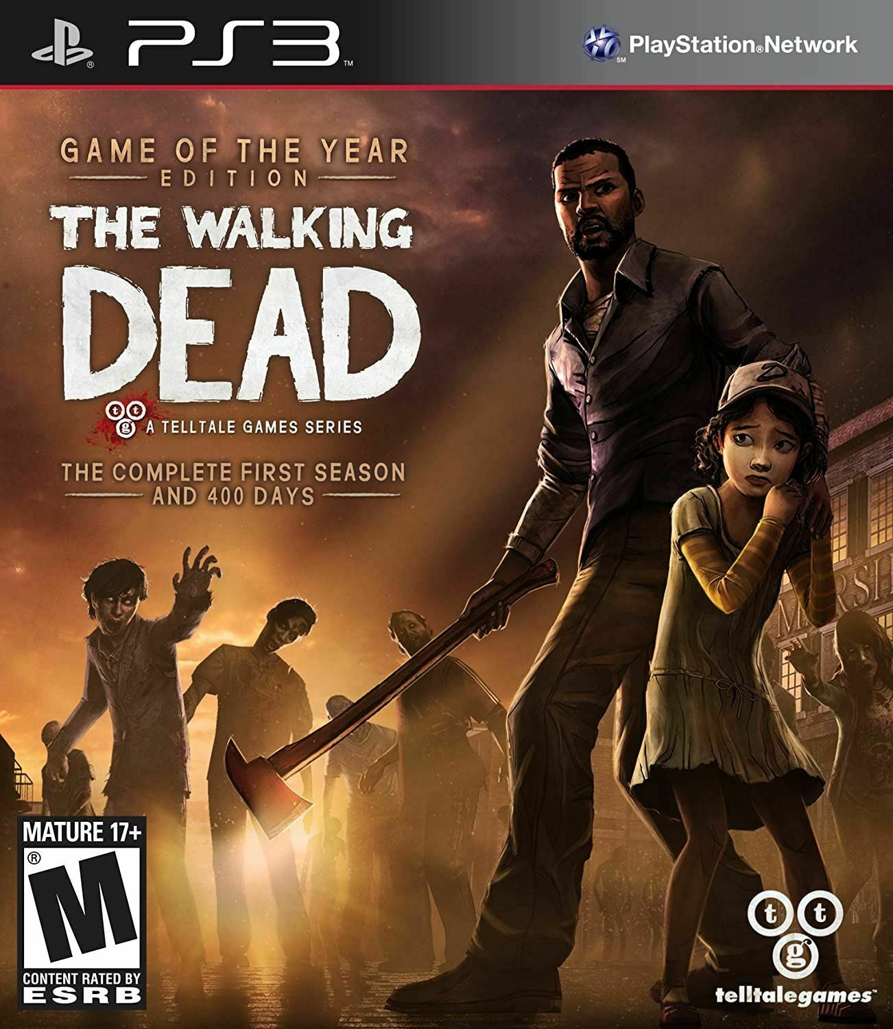 THE WALKING DEAD - A TELLTALE GAMES SERIES GOTY GAME OF THE YEAR EDITION PS3