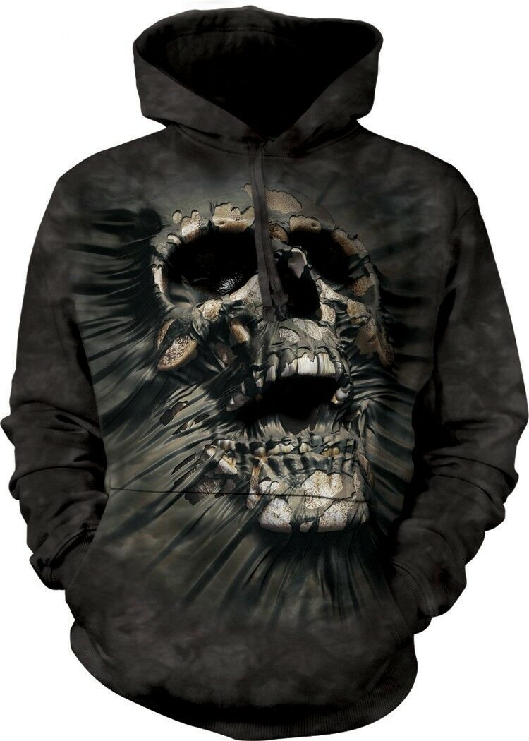 Breakthrough Skul Mountain Adult Skull Hoodie the Mountain Skul 618752