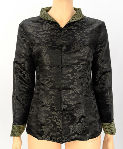 Laogudai Black Chinese Jacket 18 Cheongsam Embroid