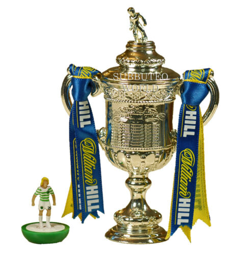 OFFICIAL LICENSED PRODUCT 100mm SUBBUTEO SOCCER SCOTTISH FA CUP /& DISPLAY BOX