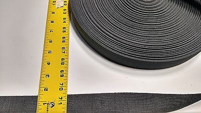 "Deck Grey 1 1/2"" Inch Military Spec Webbing 5 Yard Roll Fabric Outdoor Camo #341"