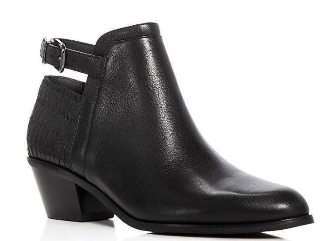 a buon mercato  275 Dimensione 6 6 6 Via Spiga Caryn nero Leather Heel Ankle avvioies donna scarpe  online economico