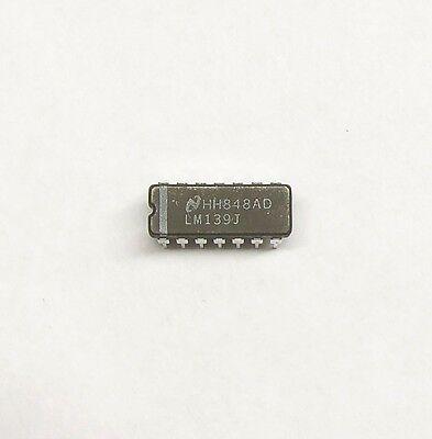 50pcs LM139J Low Power Low Offset Voltage Quad Comparators IC National CDIP-14