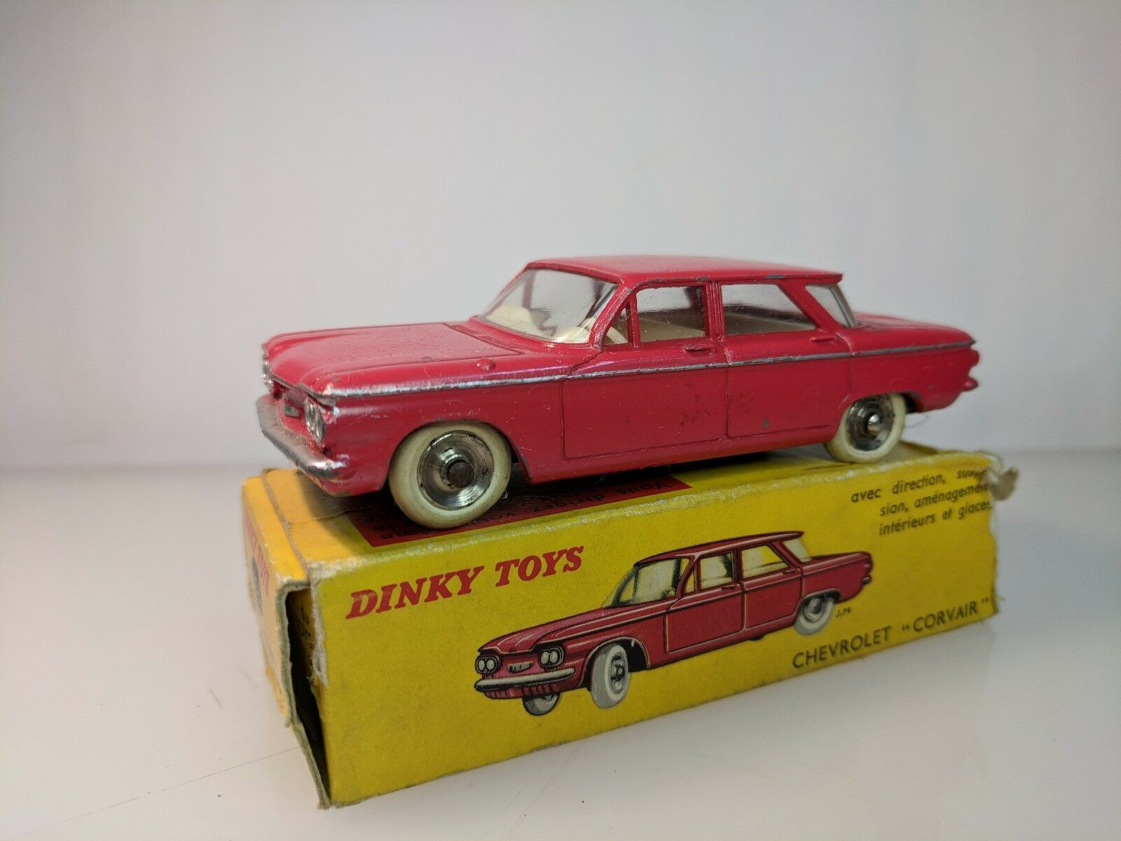 Vintage French Dinky Toys - 552 CHEVROLET CORVAIR France