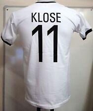 La Germania KLOSE retrò 11 Calcio Adulti T-Shirt Taglia Large Nuovo di Zecca