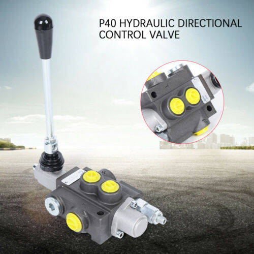 Hydraulik Wegeventil 11gpm 40L//min doppelt wirkenden Zylinder Spule P40 250 bar