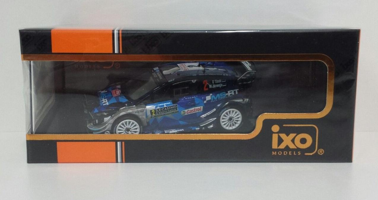 IXO 1 43 MODELLINO FORD FIESTA M-SPORT WRC RALLY MONTE CARLO 2017 TANAK RAM642