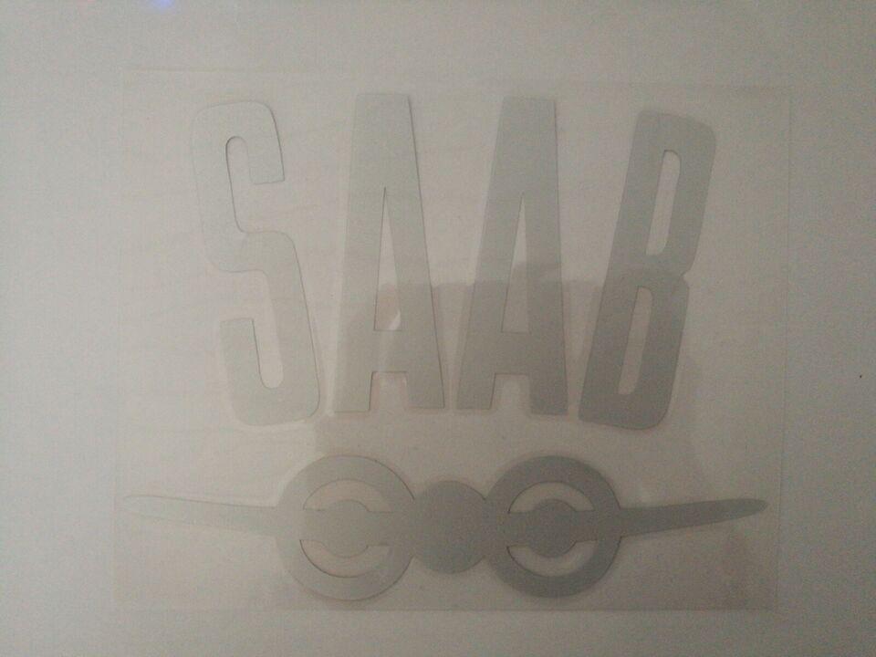 Klistermærker, Saab