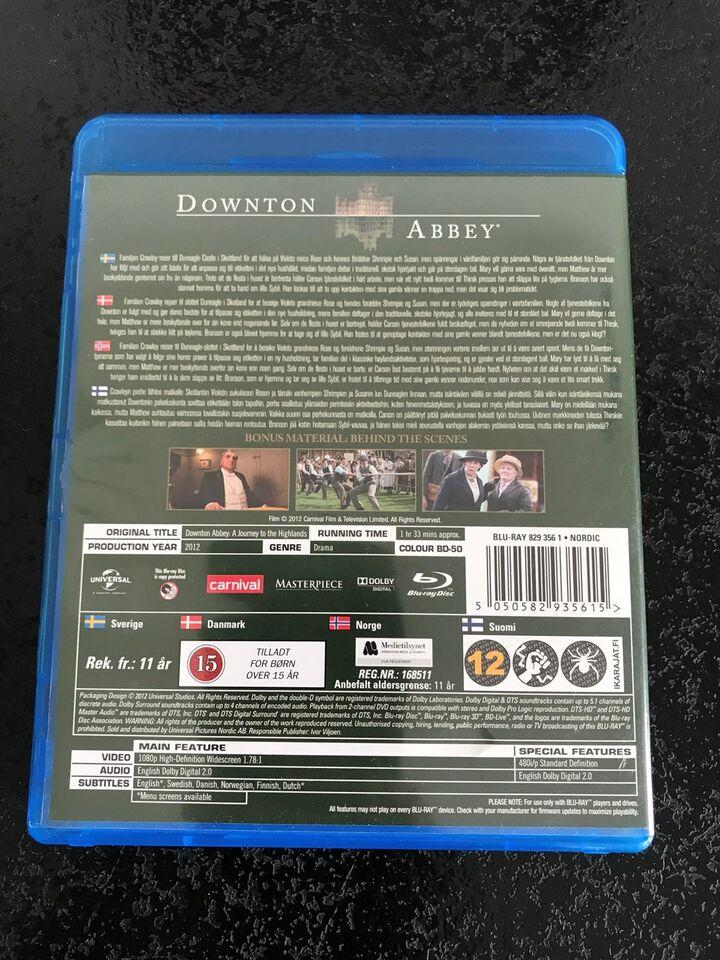 Downton Abbey - A journey to the highlands, instruktør Andy