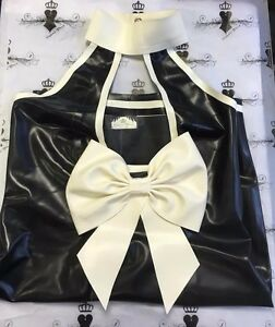 783bcdd6c81 R1539 Latex Fashion Dress Shown SIZE 16 UK BURLESQUE PIN UP SECOND ...