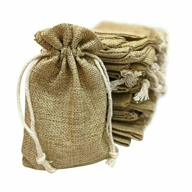 Rustic Wedding Bridal Shower Favor Bags 4x6 12 Pk Burlap Bags Wedding Burlap Favor Bags Rustic Gift Bag