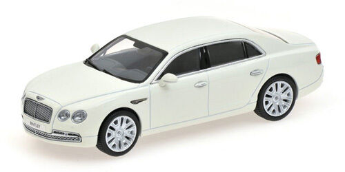 Kyosho 1 43 05561GW Bentley Flying Spur W12 Glacier blancoo blancoo blancoo NEW 115b74