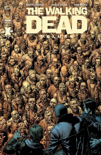 WALKING DEAD DELUXE #9 CVR A FINCH 2//17//21 FREE SHIPPING AVAILABLE