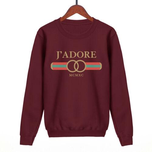 J/'adore mcmxc sweatshirt mens womens unisex funny sweat swag hipster fashion