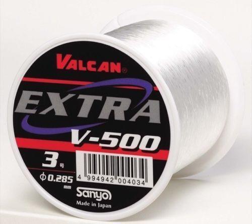 Sanyo Nylon VALCAN EXTRA V-500 500m Corresponds Big Fish & Deep