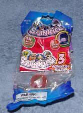 SQUINKIES 3 SQUINKIES, CARRY BAG & 24 STICKERS SET