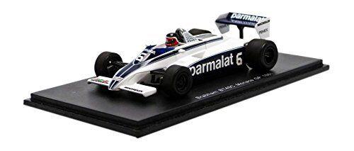 Brabham BT49C H. Rebaque 1981  6 Dnq Monaco Gp 1:43 Model S4348 SPARK MODEL