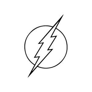 flash symbols coloring pages - photo#19