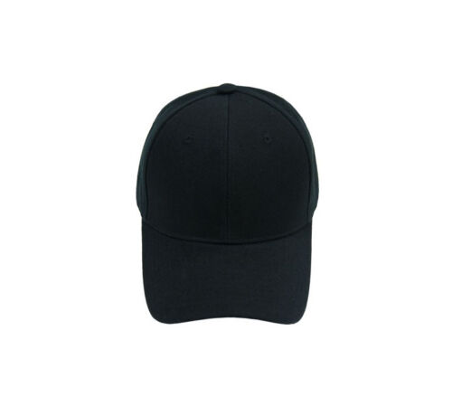 WHOLESALE LOT 50 Plain Blank Solid Baseball caps hats adjustable